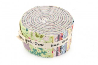 """Lewis and Irene - Bunny Hop - Fabulous Forties Roll (2.5"""" Strips) (FFBHOP)"""