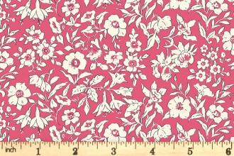 Liberty Fabrics - The Cottage Garden - Morning Dew - Pink (04775609/Y)