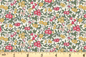 Liberty Fabrics - The Cottage Garden - Forget Me Not - Pink (04775612/Y)