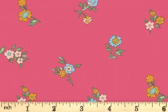 Liberty Fabrics - The Cottage Garden - Little Vine - Pink (04775614/X)