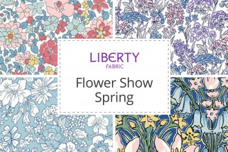 Liberty Fabrics Flower Show Spring Collection Wool Warehouse Buy Yarn Wool Needles Other Knitting Supplies Online