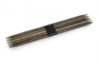 Lykke Double Point Knitting Needles - Driftwood - 15cm