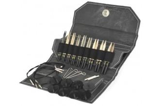 Lykke Interchangeable Needle Set - Driftwood - 9cm / 3.5in (Set of 9)