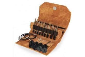 Lykke Interchangeable Needle Set - Umber - 9cm / 3.5in (Set of 9)