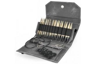 Lykke Interchangeable Needle Set - Driftwood - 13cm / 5in (Set of 12)