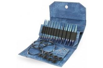 Lykke Interchangeable Needle Set - Indigo - 13cm / 5in (Set of 12)