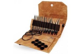 Lykke Interchangeable Needle Set - Umber - 13cm / 5in (Set of 12)