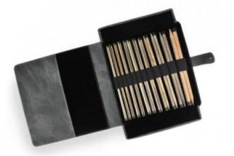 Lykke Straight Needle Set - Driftwood - 25cm / 10in (Set of 12)