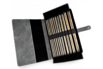 Lykke Straight Needle Set - Driftwood - 35cm / 14in (Set of 12)
