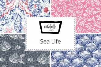 Michael Miller - Sea Life Collection