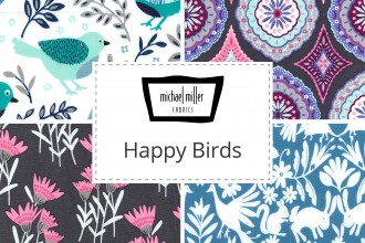 Michael Miller - Happy Birds Collection