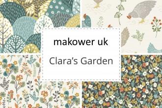 Makower - Clara's Garden Collection