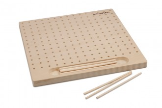Milward Wooden Blocking Board with 12 Pins