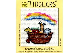 Mouseloft - Tiddlers - Noah's Ark (Cross Stitch Kit)