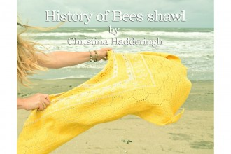 A Spoonful of Yarn - History of Bees Shawl - Pollen (Scheepjes Yarn Pack)