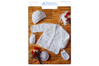 Patons 2989 - DK (leaflet) Jacket, Hat and Mitts