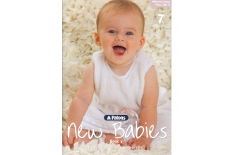 Patons 3549 - New Babies 1 (booklet)