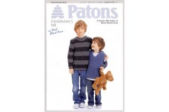 Patons 3755 - Wool Blend Aran (leaflet) Classic Rib Styles