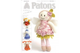 Patons 3806 - Smoothie DK (booklet) Fairy Flower Dolls