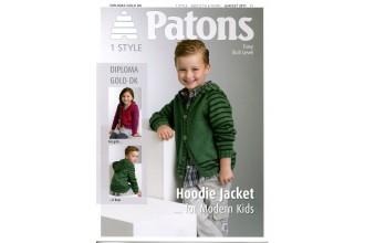 Patons 3911 - Diploma Gold DK Hoodie Jacket (leaflet)