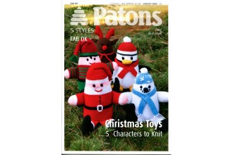 Patons 3932 - Fab DK Christmas Toys (leaflet)