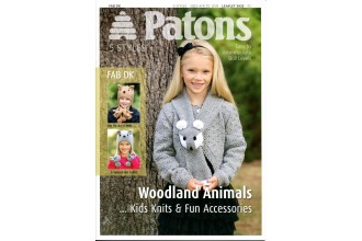 Patons 3933 - Fab DK Woodland Animals...Kids Knits & Fun Accessories (leaflet)