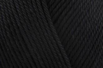 Patons 100% Cotton DK - Black (02712) - 100g