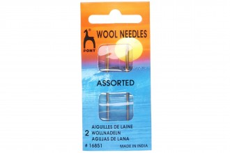 Pony Gold Eye Hand Sewing Needles, Wool Needles