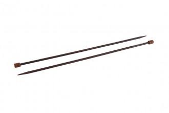 Pony Single Point Knitting Needles - Rosewood - 35cm (5.00mm)