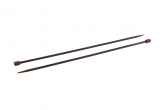 Pony Single Point Knitting Needles - Rosewood - 35cm (6.00mm)