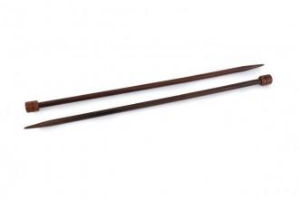 Pony Single Point Knitting Needles - Rosewood - 35cm (7.00mm)