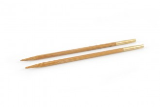 Pony Interchangeable Circular Knitting Needle Shanks - Bamboo (3.50mm)