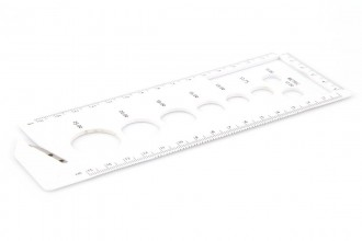 Pony Knitting Gauge - Large with Cutter