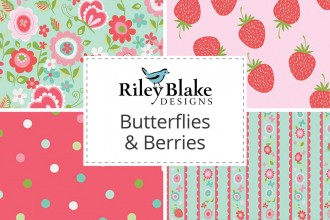Riley Blake - Butterflies & Berries Collection