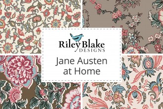 Riley Blake - Jane Austen at Home Collection