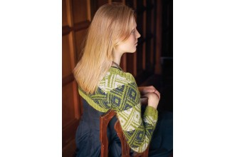 Rowan - New Nordic - Ragna Sweater by Arne and Carlos in Felted Tweed and Kidsilk Haze (downloadable PDF)