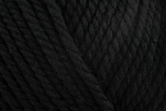 Rico Essentials Soft Merino (Aran) - Black (090) - 50g
