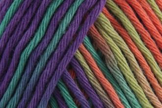 Rico Creative Cotton Print (Aran) - Purple-Orange Mix (008) - 50g