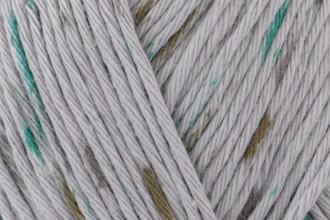 Rico Creative Cotton Print (Aran) - Grey-Green Spray (028) - 50g