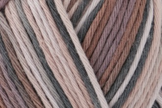 Rico Creative Cotton Print (Aran) - Pink-Brown Mix (029) - 50g