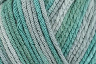 Rico Creative Cotton Print (Aran) - Patina-Green Mix (037) - 50g