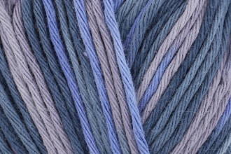 Rico Creative Cotton Print (Aran) - Lilac-Brown Mix (038) - 50g