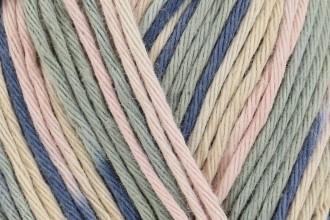 Rico Creative Cotton Print (Aran) - Blue-Powder Mix (039) - 50g