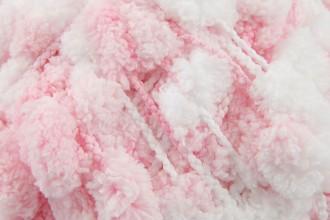 Rico Creative Pompon Print - Baby Pink (010) - 200g