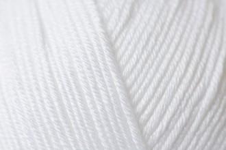 Rico Essentials Cotton (DK) - White (80) - 50g