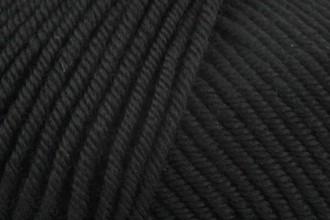 Rico Essentials Merino (DK) - Black (90) - 50g
