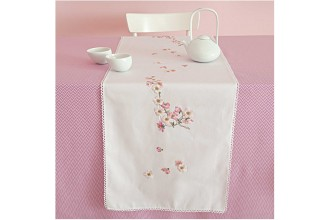 Rico - Cherry Blossoms Table Runner (Embroidery Kit)