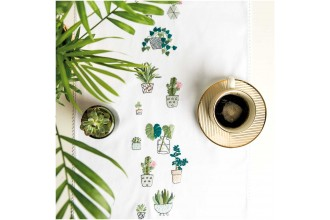 Rico - Cacti Table Runner (Embroidery Kit)