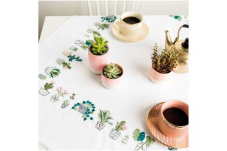 Rico - Cacti Tablecloth (Embroidery Kit)