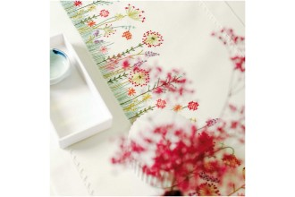 Rico - Autumn Meadow Table Runner (Embroidery Kit)